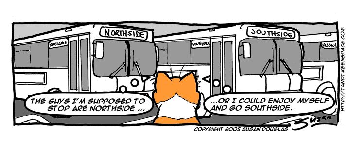 Northside or Southside