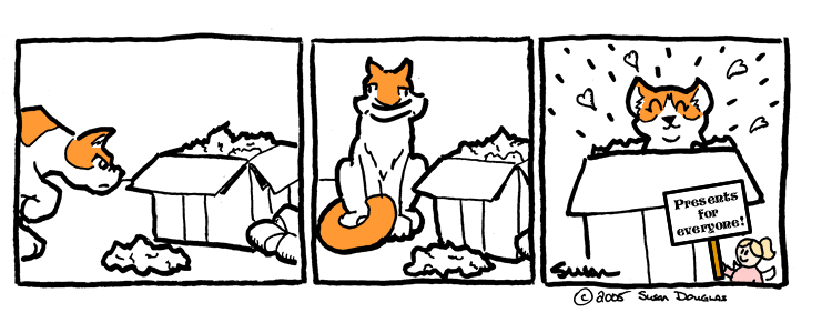 Of Boxes and Cats